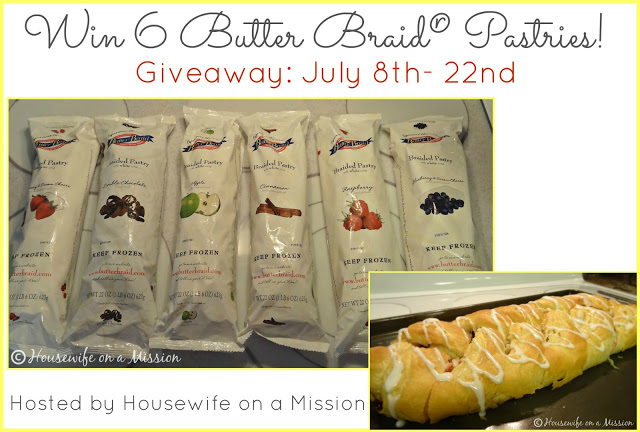 The One and Only Butter Braid® Frozen Pastry Dough | Review + A Giveaway