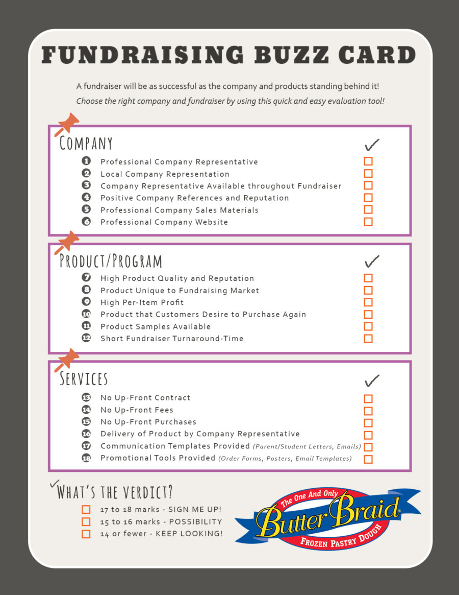 Searching For Your Next Fundraiser? Use This Checklist!