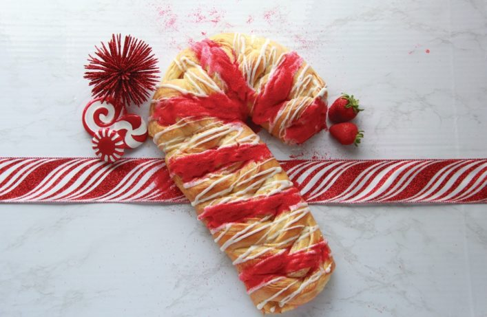 Braided Candy Cane
