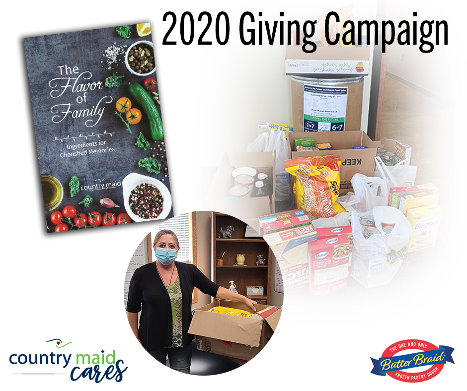 Country Maid Cares 2020 Giving Campaign