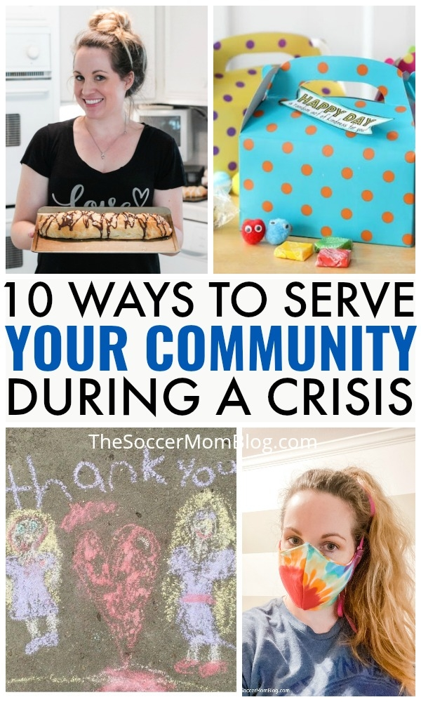 The Soccer Mom Blog: 10 Ways to Help Your Community During a Crisis