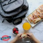 Tales from a Southern Mom: butter braid pastry with school lunch
