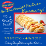 Everything Mommyhood - Butter Braid pastry review & giveaway from 2020