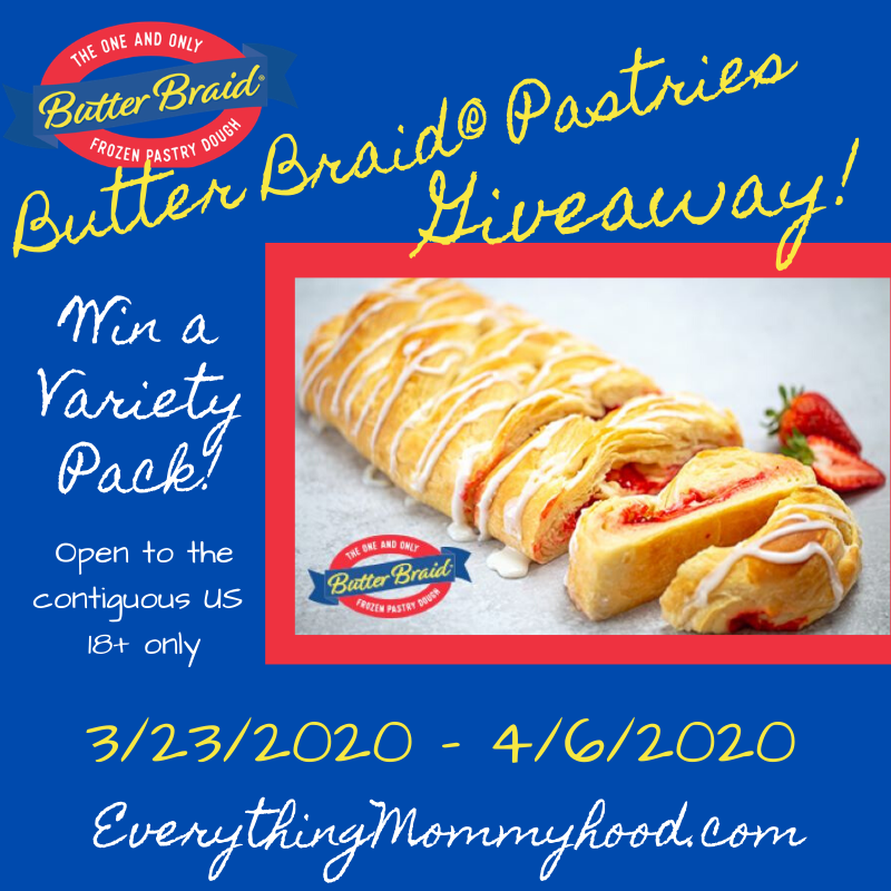 Everything Mommyhood: Butter Braid® Pastry Review & Giveaway